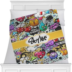 Graffiti Minky Blanket (Personalized)