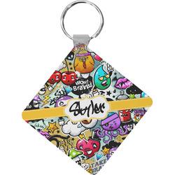 Graffiti Diamond Key Chain (Personalized)