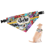 Graffiti Dog Bandana (Personalized)
