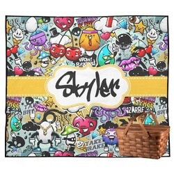 Graffiti Outdoor Picnic Blanket (Personalized)