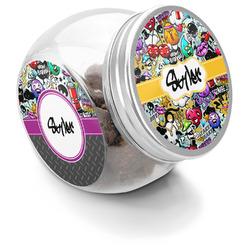 Graffiti Puppy Treat Jar (Personalized)