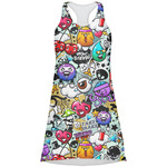 Graffiti Racerback Dress (Personalized)