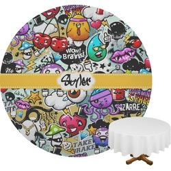 Graffiti Round Tablecloth (Personalized)