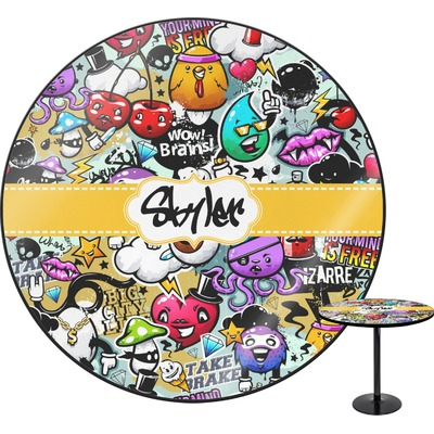 Graffiti Round Table (Personalized)