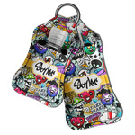 Graffiti Hand Sanitizer & Keychain Holder (Personalized)
