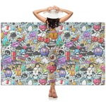 Graffiti Sheer Sarong (Personalized)