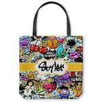 Graffiti Canvas Tote Bag (Personalized)