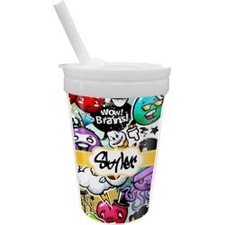 Graffiti Sippy Cup with Straw (Personalized)