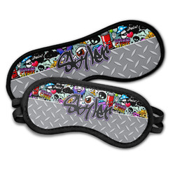 Graffiti Sleeping Eye Masks (Personalized)