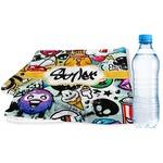 Graffiti Sports & Fitness Towel (Personalized)