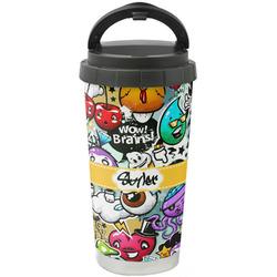 Graffiti Stainless Steel Travel Mug (Personalized)