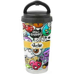 Graffiti Stainless Steel Coffee Tumbler (Personalized)