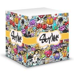 Graffiti Sticky Note Cube (Personalized)