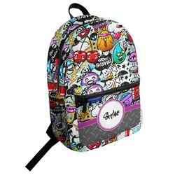 Graffiti Student Backpack (Personalized)