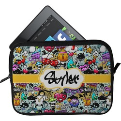 Graffiti Tablet Case / Sleeve (Personalized)