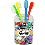 Graffiti Toothbrush Holder (Personalized)