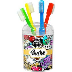 Graffiti Toothbrush Holder (Personalized)