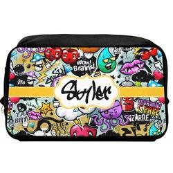 Graffiti Toiletry Bag / Dopp Kit (Personalized)