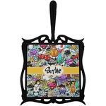 Graffiti Trivet with Handle (Personalized)