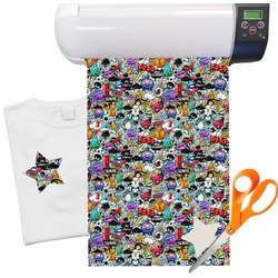"Graffiti Heat Transfer Vinyl Sheet (12""x18"")"