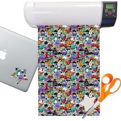 Graffiti Sticker Vinyl Sheet (Permanent)