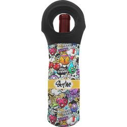 Graffiti Wine Tote Bag (Personalized)