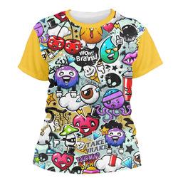 Graffiti Women's Crew T-Shirt (Personalized)
