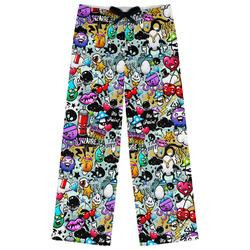 Graffiti Womens Pajama Pants (Personalized)