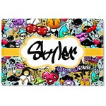 Graffiti Woven Mat (Personalized)