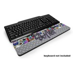 Graffiti Keyboard Wrist Rest (Personalized)