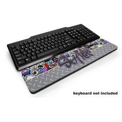 Graffiti Keyboard Wrist Rest (Personalized)