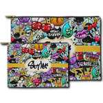 Graffiti Zipper Pouch (Personalized)