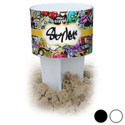 Graffiti Beach Spiker Drink Holder (Personalized)