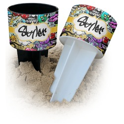 Graffiti Beach Spiker Drink Holder (Personalized)