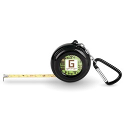 Industrial Robot 1 Pocket Tape Measure - 6 Ft w/ Carabiner Clip (Personalized)