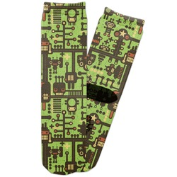Industrial Robot 1 Adult Crew Socks (Personalized)