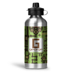 Industrial Robot 1 Water Bottle - Aluminum - 20 oz (Personalized)