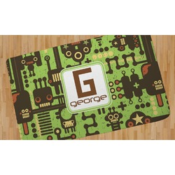Industrial Robot 1 Area Rug (Personalized)