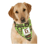 Industrial Robot 1 Dog Bandana Scarf w/ Name and Initial