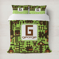 Industrial Robot 1 Duvet Covers (Personalized)