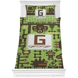Industrial Robot 1 Comforter Set - Twin XL (Personalized)