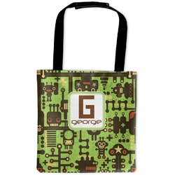 Industrial Robot 1 Auto Back Seat Organizer Bag (Personalized)
