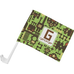 Industrial Robot 1 Car Flag (Personalized)