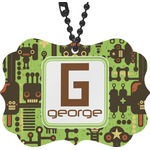 Industrial Robot 1 Rear View Mirror Decor (Personalized)