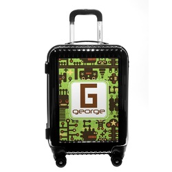 Industrial Robot 1 Carry On Hard Shell Suitcase (Personalized)