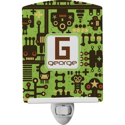 Industrial Robot 1 Ceramic Night Light (Personalized)