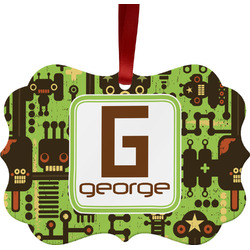 Industrial Robot 1 Ornament (Personalized)