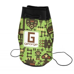 Industrial Robot 1 Neoprene Drawstring Backpack (Personalized)