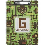 Industrial Robot 1 Clipboard (Personalized)