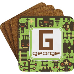Industrial Robot 1 Coaster Set (Personalized)